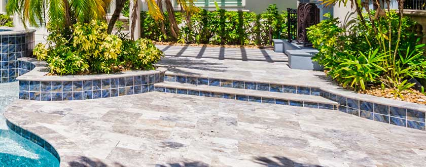 Hardscapes Pool Steps | Edgewater Pool Service Naples
