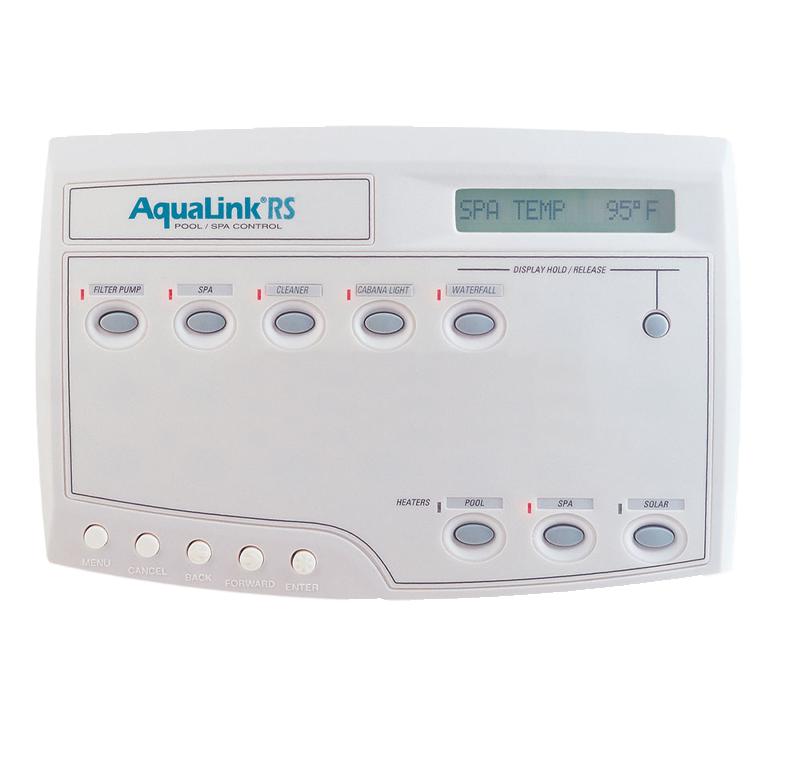 AquaLink Temperature Controls | Edgewater Pools and Spa Services - Naples, Bonita Springs, Isles of Capri, & Estero