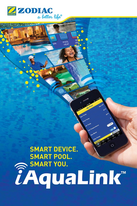 AquaLink Device | Edgewater Pools and Spa Services - Naples, Bonita Springs, Isles of Capri, & Estero