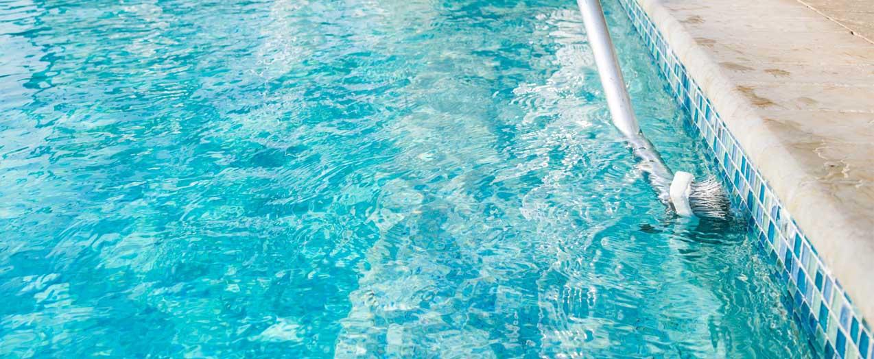 Scrubbing a Pool | Edgewater Pools and Spa Services - Naples, Bonita Springs, Isles of Capri, & Estero