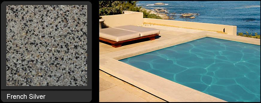 French Silver Pool Refinishing | Edgewater Pools and Spa Services - Naples, Bonita Springs, Isles of Capri, & Estero