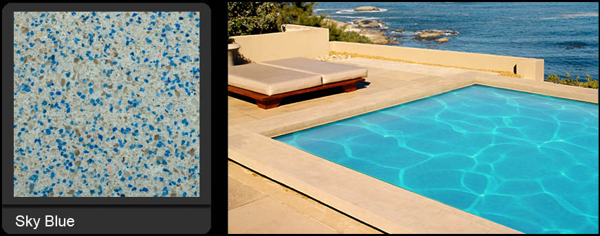 Sky Blue Pool Refinishing | Edgewater Pools and Spa Services - Naples, Bonita Springs, Isles of Capri, & Estero