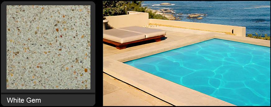 White Gem Pool Refinishing | Edgewater Pools and Spa Services - Naples, Bonita Springs, Isles of Capri, & Estero