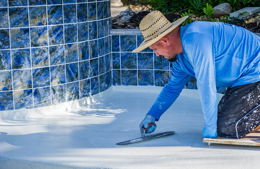 Pool Floor Smoothing Renovation| Edgewater Pool Service Naples